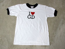 VINTAGE Homeboys Shirt Youth Large White Green Hip Hop Rap Music Kids Boys 90s *