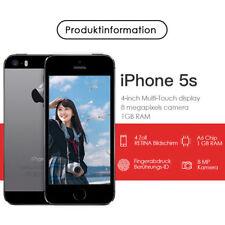 Apple iPhone 5s 32GB Smartphone Ohne Simlock Vertrag Handy SPACEGRAU Unlocked