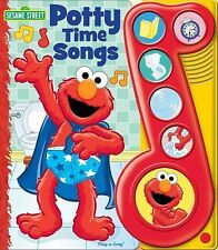 Elmo's Potty Time Play-a-Song Book by Editors of Publications International Ltd