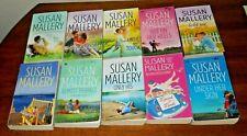 Susan Mallery - lot of 10 pb books