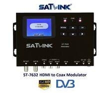 SatLink ST-7632 Professional HDMI or RCA to RF Modulator,DVB-T / ISDB-T or DVB-C