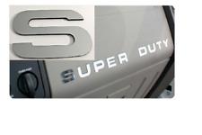 2008-2016 Ford F250 Super Duty Dash Board Ultra Chrome Letter Inserts Stickers