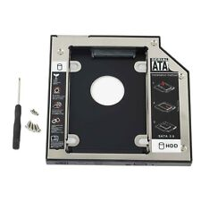 For HP ProBook 6560b 6565b 6570b NEW 12.7mm 2nd HDD SSD hard drive Caddy