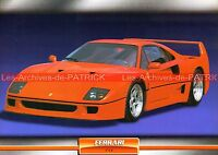 FERRARI F 40 ( F40 ) 1988 : Fiche Auto Collection