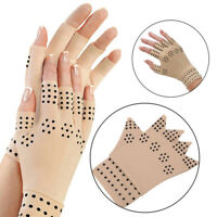 Magnetic Therapeutic Arthritic Fingerless Compression Gloves Arthritis Therapy