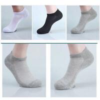 Lot 10 Pairs Mens Unisex Sport Cotton Casual Ankle Socks Women Low Cut Crew Sock
