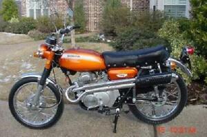 Honda Candy Topaz Orange Vintage Motorcycle Paint - Aerosol - Pint - Quart
