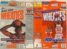 Wheaties Chicago Bulls and Michael Jordan Boxes