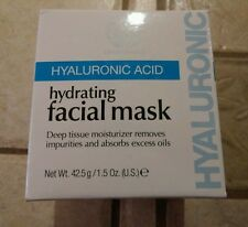 Living Source Hyaluronic Acid Hydrating Facial Mask 1.5 oz Removes Impurities