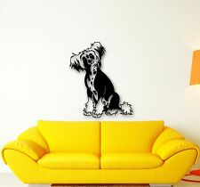Wall Stickers Vinyl Decal Cute Dog Pets Animal Great Home Decor (ig655)