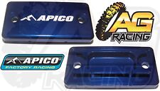 Apico Blue Front Brake Master Cylinder Cover For Yamaha WR 450F 2004-2011 New