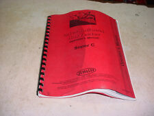 IH INTERNATIONAL HARVESTER Farmall SUPER C TRACTOR Owner Operator's Manual!