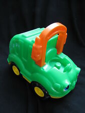 Fisher Price Little People CLANKY GARBAGE TRUCK w/ SOUNDS Sanitation Trash 2001