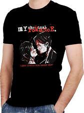 MY CHEMICAL ROMANCE BAND 3 Black New T-shirt Rock T-shirt Rock Band Shirt