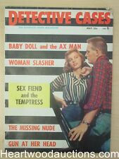 """Detective Cases"" May 1958"