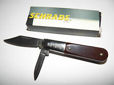 "Scharade Hackmaster Barlow  2 Blade Folding Knife 3 1/4"" (New) 278"