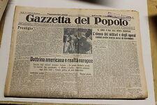 [J1] GAZZETTA DEL POPOLO 6/01/1936 ELENCO MILITARI E OPERAI CADUTI IN DICEMBRE