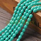 New Arrival 30pcs 9X7mm Teardrop Shape Loose Spacer Glass Beads Lake Green