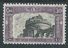 1928 REGNO MILIZIA 30 CENT MH * - G201-2