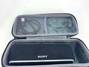 Used Sony SRS-XB21 Portable Bluetooth Speaker Black Very Good Sound