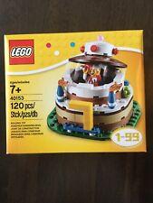 LEGO 40153 Birthday Cake Table Decoration Building Set - NEW Sealed