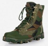 Outdoor Mens High Top Tactical Boots Army Military Hiking Desert Shoes Plus Size