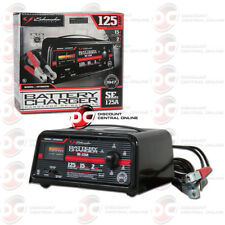 SCHUMACHER SE-125A 125/15/2 AMP 12V AUTOMATIC BATTERY CHARGER AND ENGINE STARTER