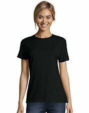 Hanes T-shirt 100% Cotton Nano-T Classic Fit Short Sleeve Womens Ringspun Basic