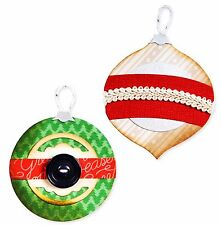 Sizzix Bigz Ornaments #5 die #659993 Retail $19.99 designer BasicGrey