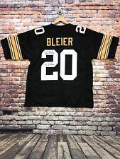 Rocky Bleier  signed autographed pro style black jersey JSA Witness