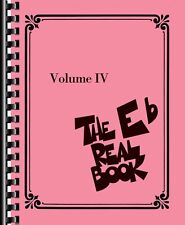 The Real Book Volume IV Eb Edition Real Book Fake Book NEW 000103349
