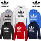 New Adidas Originals Mens Trefoil Fleece Hoodie Hooded Sweatshirt Top S-XL