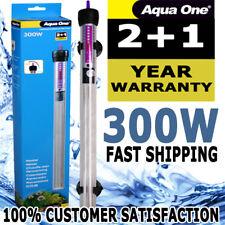Aqua One Submersible Aquarium Fish Tank Auto Thermostat Heater 300 Watt