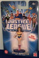 Justice League Unlimited Metal Collection Wonder Woman Figure DC Mattel
