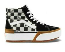 NIB Vans Sk8-Hi Stacked Checkerboard Platform Shoes Men's 6. 5 Women's 8