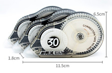 30m Correction Tape Roller 30m Long White Sticker Study Office School Supplies