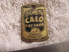 Calo Cat FOOD Metal Tag FOB Advertising