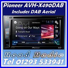 Pioneer AVH-X490DAB DVD Stereo DAB Digital Radio Bluetooth iPod + DAB Aerial