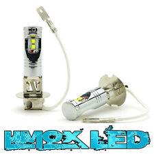 2x Xenon LED Nebelscheinwerfer H3 LED Opel Corsa C D Zafira 20 Watt 380 Lumen