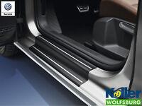 Original Volkswagen VW Einstiegsfolie Schutzfolie schwarz silber Golf Sportsvan