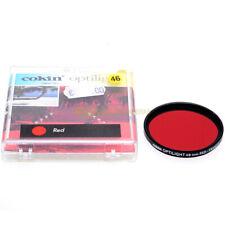 46mm. filtro Rosso R2 Cokin per obiettivi M46. Camera Red filter R-2