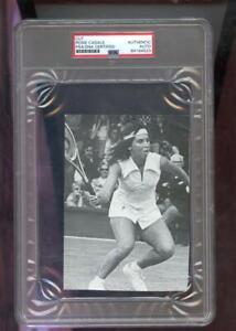 Rosie Casals Magazine Photograph Photo Autographed Autograph Auto PSA/DNA Tennis