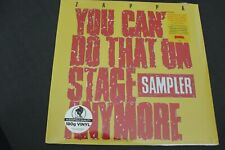 Frank Zappa - You Cant Do That On Stage Anymore - Zappa Records - Zr 1742