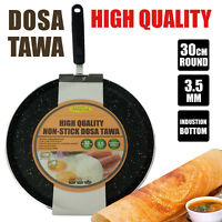 (High Quality) - Ashley Cook Non-stick Dosa Tawa Induction Bottom (30cm x 3.5mm)