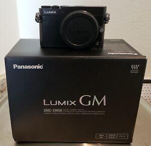 Panasonic Mirrorless Single Lens Camera Gm5 Black (Body only)