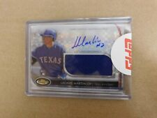 LEONYS MARTIN 2012 TOPPS FINEST X-FRACTOR AUTO RELIC RC AJR-LM  OF 299