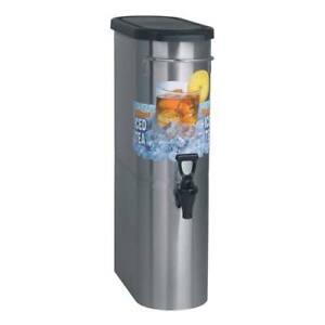Narrow Iced Tea Dispenser - 3.5 Gallon Capacity