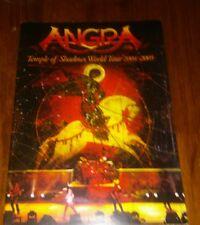 Angra Temple of Shadows tour program 2004-2005