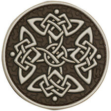 PVC Morale Patch MAXPEDITION - CELTIC CROSS - ARID - Hook and Loop