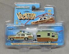 Greenlight National Lampoon's Vacation Wagon Queen Family Truckster and Trailer